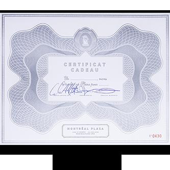 Certificats Cadeaux Thumbnail