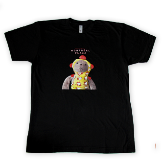Mens teddy bear t-shirt Thumbnail